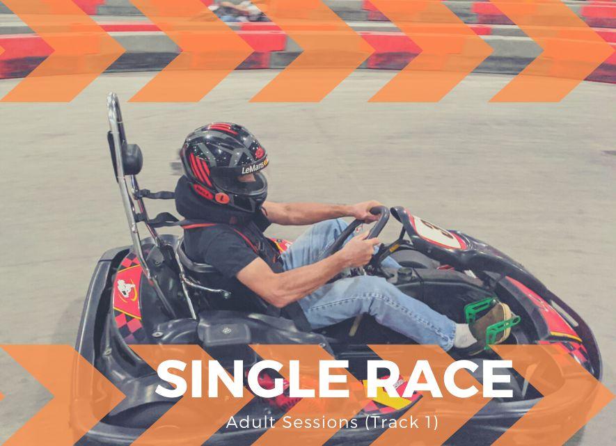 1 Adult Race (Track 1)