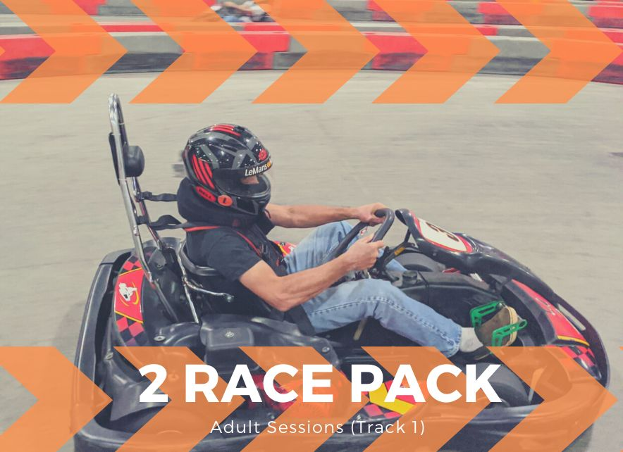 2 Adult Race Package (Track 1)