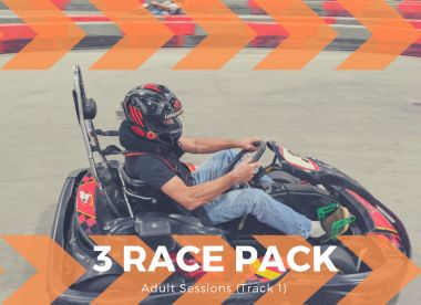 3 Adult Race Package (Track 1)