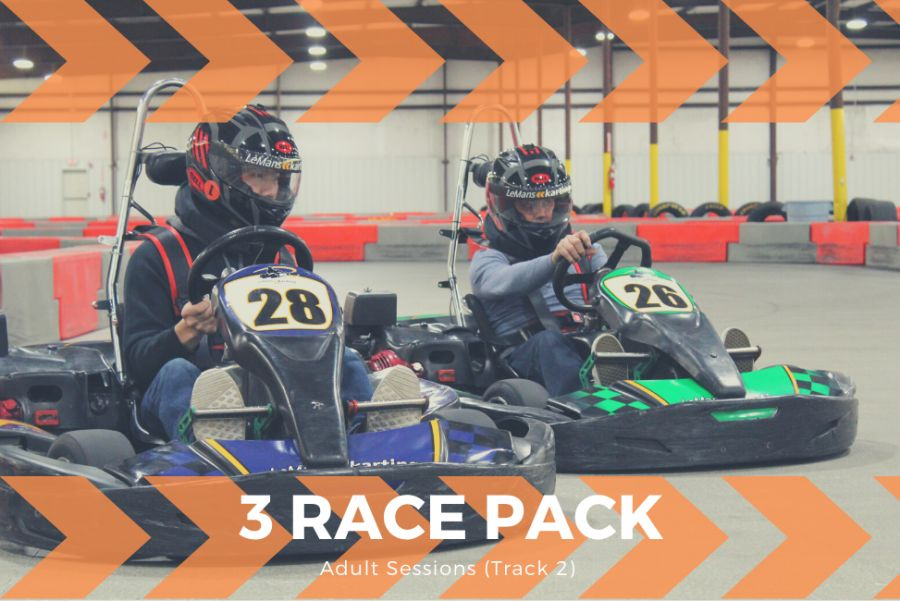 3 Adult Race Package (Track 2)