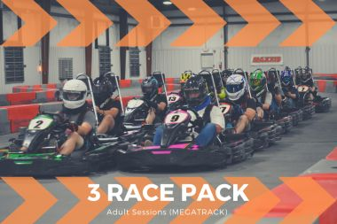 3 Adult Race Package (Mega Track)